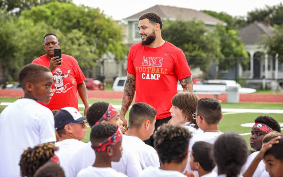 Mike Evans Football Camp 2021 – REGISTRATION NOW OPEN