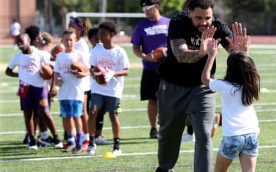 'This city made me': Evans Continues Commitment to Galveston with Annual Camp